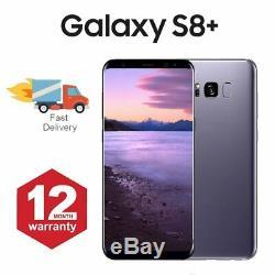 Samsung Galaxy S8 + Plus téléphone mobile Android 64 Go Gris Très Bon Etat