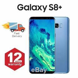 Samsung Galaxy S8 + Plus téléphone mobile Android 64 Go bleu Très Bon Etat
