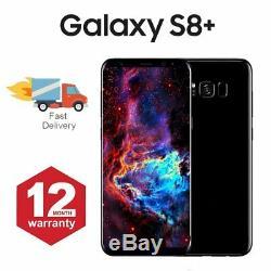 Samsung Galaxy S8 + Plus téléphone mobile Android 64 Go noir Très Bon Etat