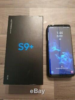 Samsung Galaxy S9+ Plus + Etui Samsung Clear View Très Bon État Débloqué