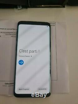 Samsung galaxy s9 256 go SM-G960f DS TRES BON ETAT avec facture