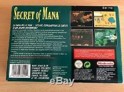 Secret of mana complet très bon état jeu console super nintendo snes collection