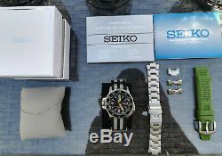 Seiko 5 SKZ211K1 Atlas (Très Bon État) + 3 bracelets + Boîte + Papiers