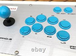 Stick Hori Real Arcade Pro 2, Controller Playstation PS1 PS2 Testé Très Bon Etat