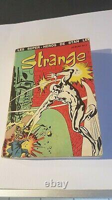 Strange album n°1 en très bon état Complet de toutes ses couvertures