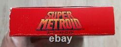 Super Metroid Nintendo Super Famicom SFC NTSC-J JAP JAPAN Très Bon Etat