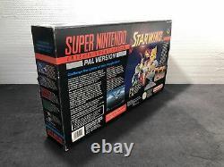 Super Nintendo Console Pack Starwing PAL Très Bon état