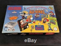Super Nintendo Console Pack Super Mario All Stars #1 FAH Très Bon état