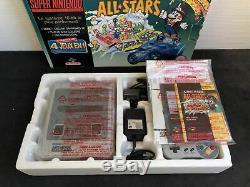 Super Nintendo Console Pack Super Mario All Stars FAH Très Bon état