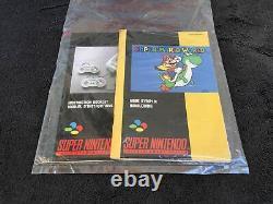Super Nintendo Console Pack Super Mario World FAH Très Bon état