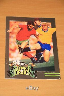 Super Sidekicks NEO GEO AES Neo geo EUR / US Très bon état