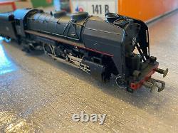 TAB Locomotive vapeur 141 r 1330 noire très bon état en boîte d'origine