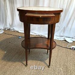 Table De Salon 18 Eme Siecle En Marqueterie 18 Eme Siecle Tres Bon Etat