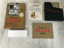 The Legend of zelda complet boite très bon état jeu console nes collection