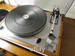 Thorens TD 165 platine vinyle original très bon état couvercle avec Ortofon pro