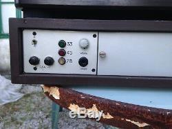 Tourne disque proffesionel broadcast Technics SP10 MkII en très bon état