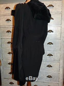 +++ Tres Belle Robe Noire Vintage Thierry Mugler T F 40 I 44 En Tres Bon Etat