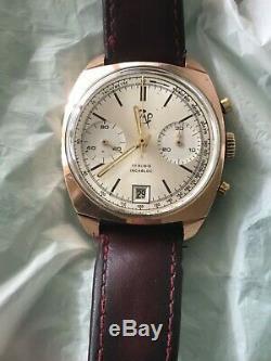 Valjoux 7734 chronographe mécanique très bon état Noël cadeau Christmas gift