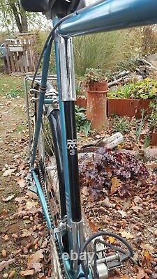 Vélo de course vintage motobécane bleu très bon état modèle sprint
