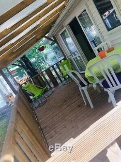 Vente mobil home Carcans, Gironde. Très Bon état, proche océan