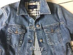 Veste en jean BURBERRY taille XL 42/44/46 très bon état