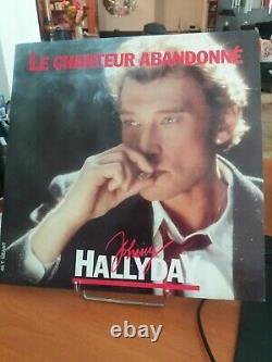 Vinyle Johnny Hallyday Le chanteur abandonné (Maxi 45 tours très bon état)