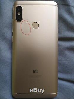 Xiaomi Redmi Note 5 4GB/64B Or/Golden Très bon état