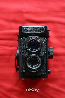 Yashica Mat-124G 6x6 moyen format reflex bi-objectif 80 mm f/3.5 très bon état