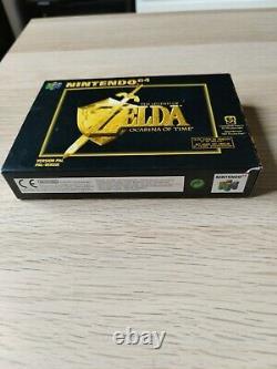 Zelda ocarina of time 64 très bon état