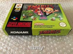 Zombies / Super Nintendo / Complet Tres Bon Etat Version Française FAH